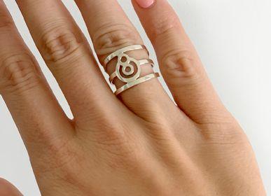 Bijoux - Bague en argent sterling BeYou: symbole énergétique  - BEYOU BY BEYOUBEUNITED