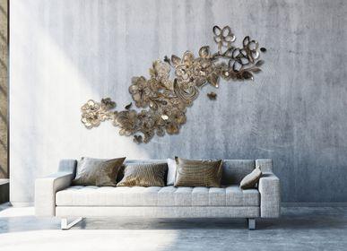 """Autres décorations murales - Fresque murale """"A l'ombre des cerisiers"""" - ESTELLE MATCZAK"""