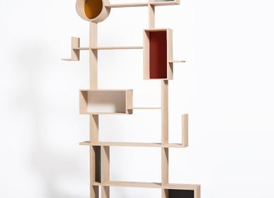 Bookshelves - RÉSO Bookcase - DRUGEOT MANUFACTURE