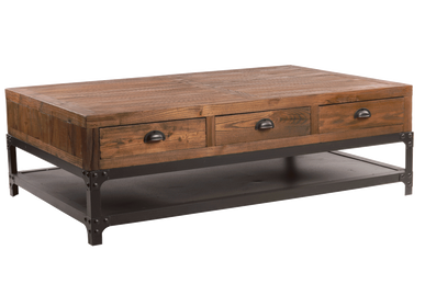 Coffee tables - Industrial coffee table - JP2B DÉCORATION