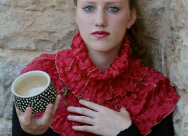 Scarves - Cascade Collar Fashion Accessory - ATELIER DU REQUISTA