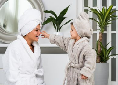 Other bath linens - Hair Towel - LUIN LIVING