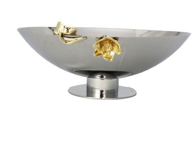 Platter and bowls - Fruit/Salad bowl Flor - ORFEVRERIE ROYALE