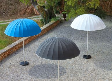 Decorative objects - UMBRELLA parasol with base - SIFAS