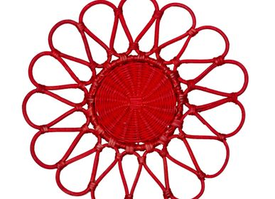 Sets de table - Placemat Yoga Red - ISHELA EUROPA LDA