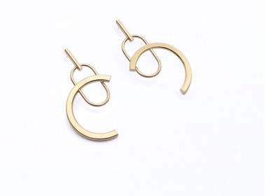 Jewelry - Brion I earrings - MARTHE CRESSON