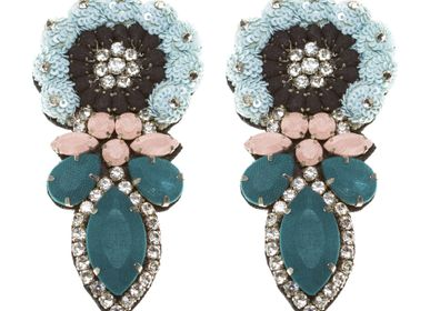 Jewelry - Inès earrings  - CHRISTINE'S - HANDMADE DESIGNERS ACCESSORIES