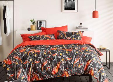 Bed linens - Perrot Duvet Cover Set - DE WITTE LIETAER