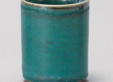 Tasses et mugs - Tasse Japonaise Yunomi - SHIROTSUKI / AKAZUKI JAPON