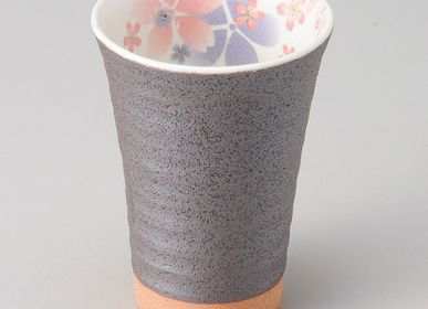 Mugs - Tall cups and japanese mazagran - SHIROTSUKI / AKAZUKI JAPON