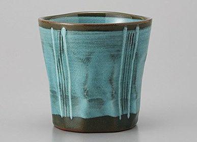 Tasses et mugs - Tasses hautes et mazagran japonais - SHIROTSUKI / AKAZUKI JAPON