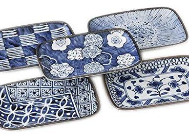 Formal plates - Japanese Plates Set - SHIROTSUKI / AKAZUKI JAPON