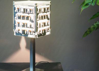 Lampes à poser - Lampe Argentus II - L'ATELIER DES CREATEURS