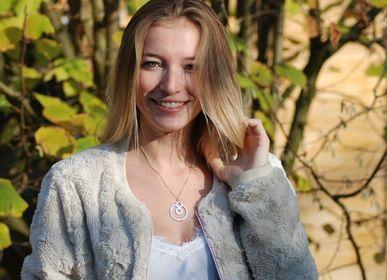 Bijoux - Symbole énergétique BeYou: pendentif M en argent sterling - BEYOU BY BEYOUBEUNITED