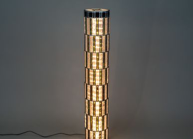 Suspensions - Lampe Colonne Meret O. - L'ATELIER DES CREATEURS