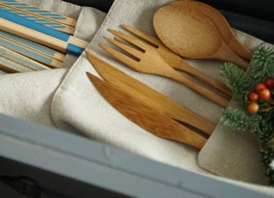 Cutlery set - SUINA -bamboo cutlery set - - STYLE OF JAPAN