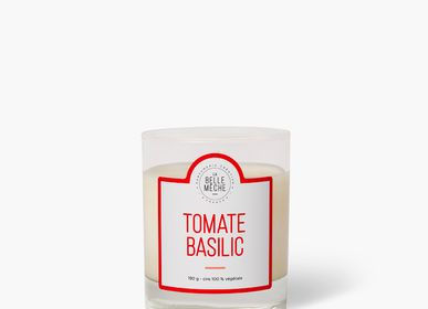 Candles - Tomato Basil Candle - LA BELLE MÈCHE