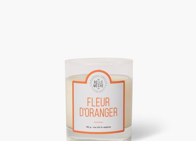 Candles - Orange Blossom Candle - LA BELLE MÈCHE