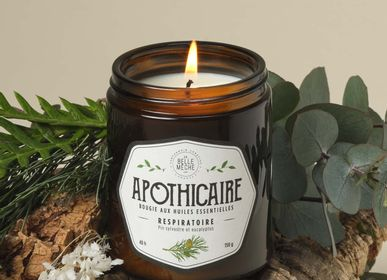Candles - Essential oils candle BREATHING - LA BELLE MÈCHE
