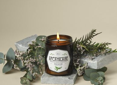 Candles - Essential oils candle MEDITATION - LA BELLE MÈCHE