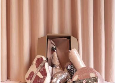 Fabric cushions - Mortadella Laptop Cushion - AUFSCHNITT