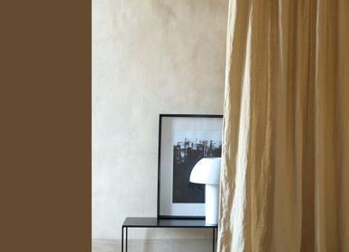 Curtains and window coverings - CURTAIN LINEN STONE WASHED MASTIC 160X270 CM - MAISON D'ÉTÉ