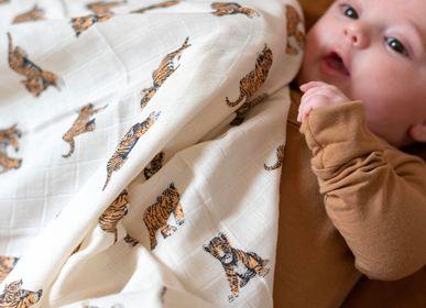 Fabrics - Set of Swaddles and Maxi Swaddles Gaspard - MILINANE