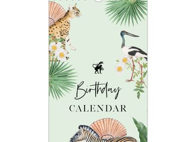 Stationery - Birthday Calendar - CREATIVE LAB AMSTERDAM