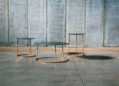 Coffee tables - NIMBUS GOLD coffee table - HEERENHUIS MANUFACTUUR