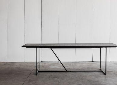 Dining Tables - MESA NERO table - HEERENHUIS MANUFACTUUR