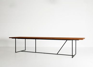 Tables Salle à Manger - MESA NERO XL table - HEERENHUIS MANUFACTUUR