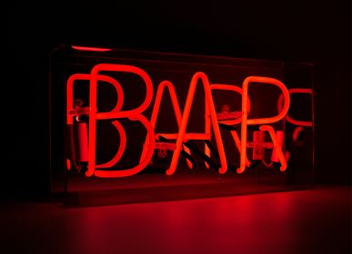 Decorative objects - 'Bar' Acrylic Box Neon Light - LOCOMOCEAN