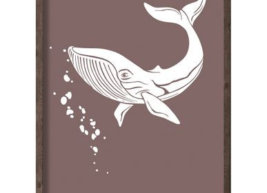 Affiches - Artprint Baleine Arctique - KOUSTRUP & CO