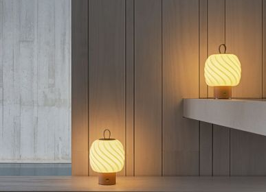 Wireless lamps - Ice Cream Collection - Handmade Porcelain Light & Scent - LLADRÓ