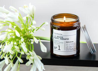 Candles - La Bougie Happy Thérapie N°1 Méditation - LILY BLANCHE