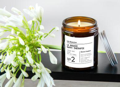 Bougies - La Bougie Happy Thérapie N°2 Bonne Humeur - LILY BLANCHE
