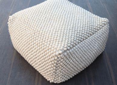 Cushions - Wool Floor Cushion  - MEEM RUGS