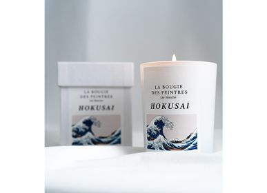 Bougies - La Bougie des Peintres Hokusai - LILY BLANCHE