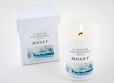 Bougies - La Bougie des Peintres Monet - LILY BLANCHE