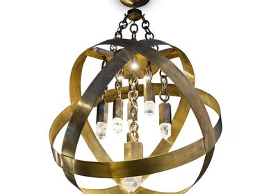 Hanging lights - Chandelier FUSION2 - CINABRE GALLERY