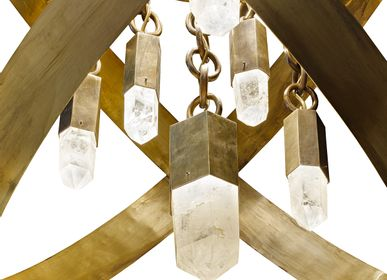 Hanging lights - Chandelier FUSION 2 - CINABRE GALLERY