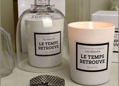 Bougies - Le Temps Retrouvé - LILY BLANCHE