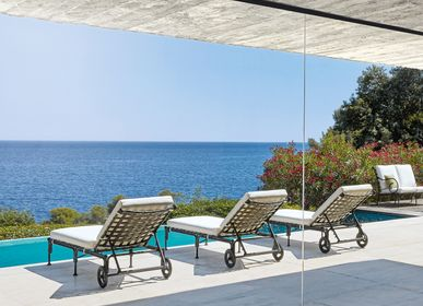 Deck chairs - Lounge chair KROSS - SIFAS
