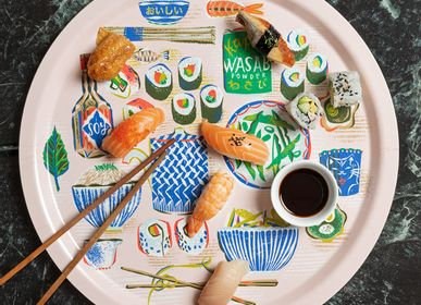 Trays - Sushi - trays - tablemats - placemats  - JAMIDA OF SWEDEN