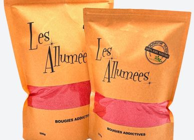 Candles - Coral Rose Wax Sand - LES ALLUMÉES