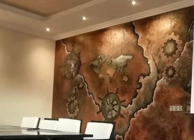 Decorative wall frescoes - Stencil - ERASME GROUP