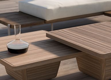 Tables basses - Table d'appoint, table basse extérieur Cobi 113x113x30 - MANUTTI