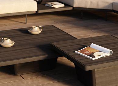 Tables basses - Table d'appoint, table basse extérieur Cobi 79x79x37 - MANUTTI