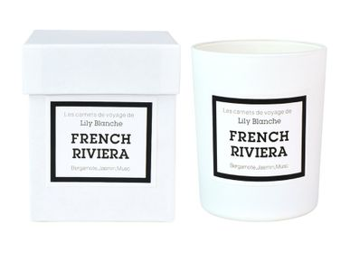 Candles - BOUGIE FRENCH RIVIERA - LILY BLANCHE