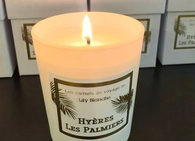 Candles - BOUGIE HYERES LES PALMIERS - LILY BLANCHE